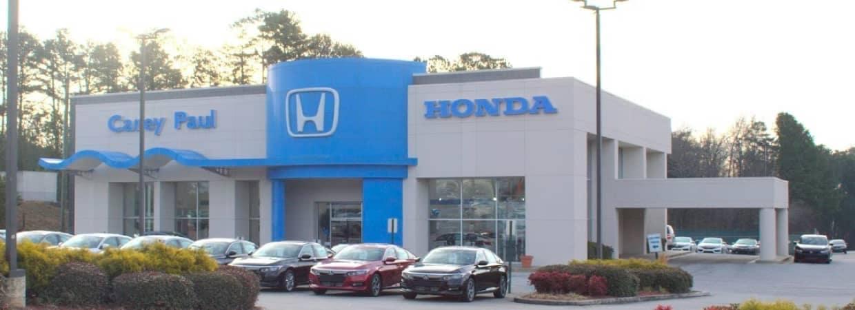 Carey Paul Honda dealership exterior shot
