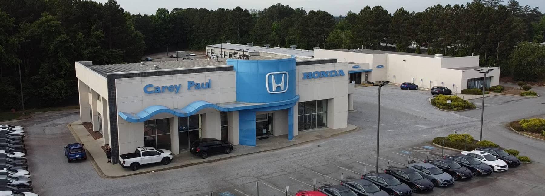 Carey Paul Honda dealership exterior