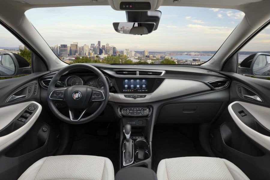 2021 Buick Encore Interior Cabin Dashboard & Front Seating