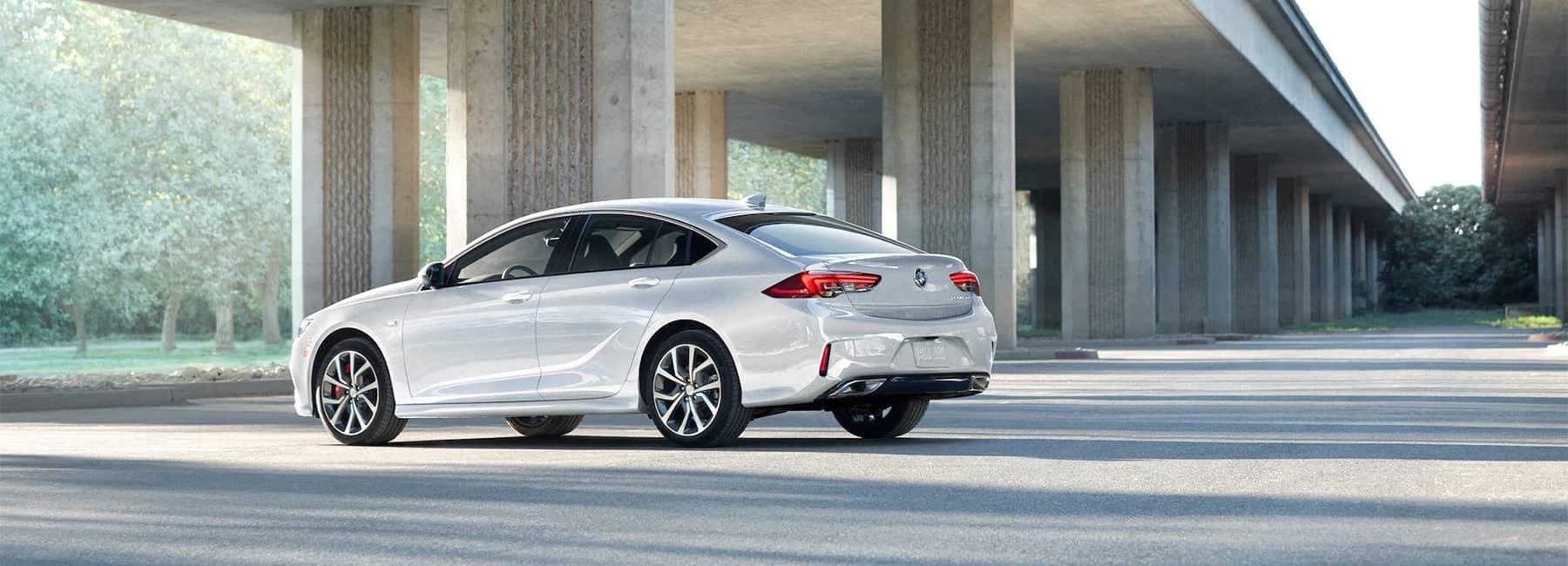 2020 Buick Regal GS Mid-Size Luxury Sedan rear corner view