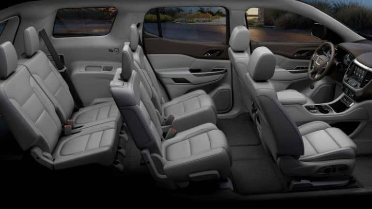 2021 GMC Acadia Interior Cabin Seating