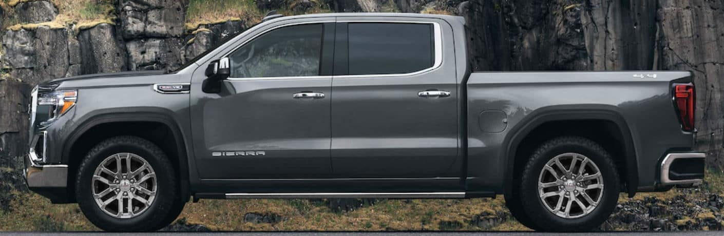 2021 GMC Sierra 1500 Exterior Driver Side Profile
