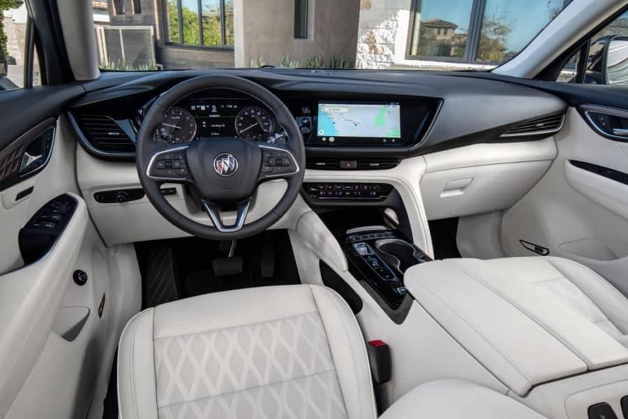 2021 Buick Envision Avenir Interior Cabin Dashboard