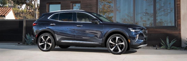 2021 Buick Envision Exterior Passenger Side Front Profile
