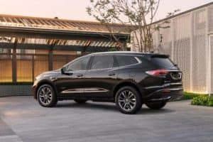 2022 Buick Enclave Avenir Exterior Driver Side Rear Profile