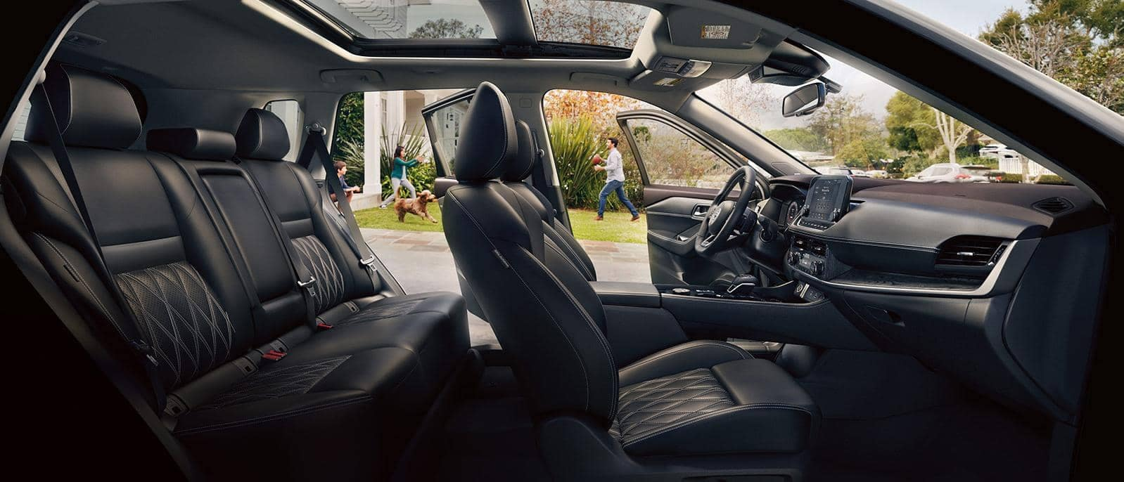 2021 Nissan Rogue Interior Side View