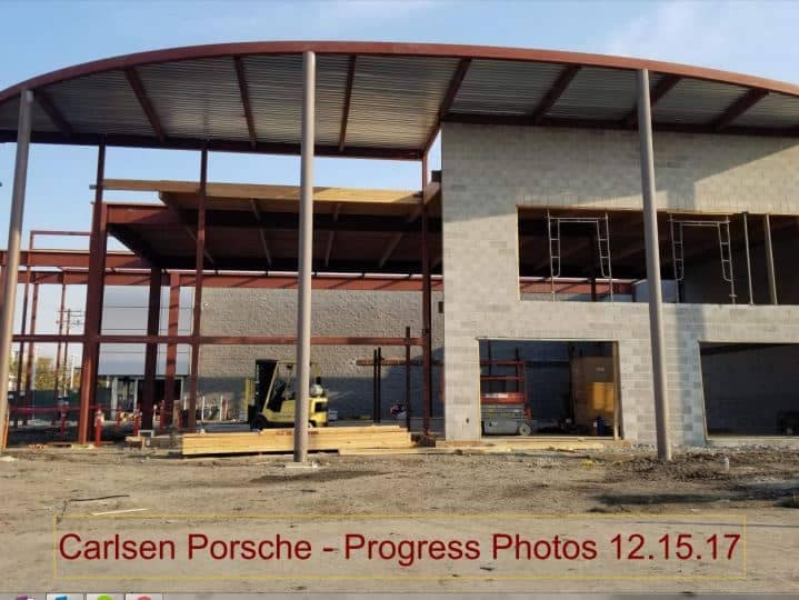 Carlsen Porsche Remodel Progress