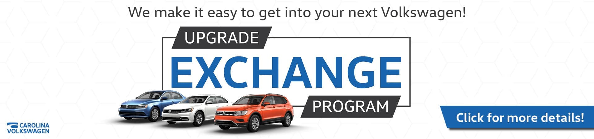 Upgrade Exchange Program