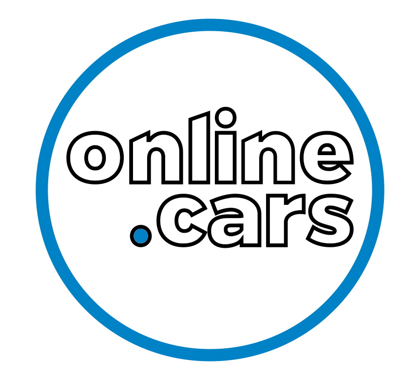Online.Cars name in a circle