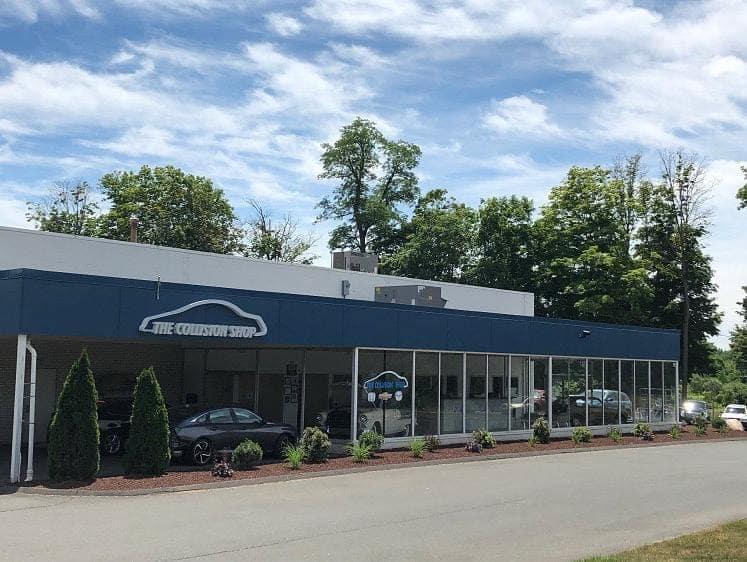 The Collision Shop exterior