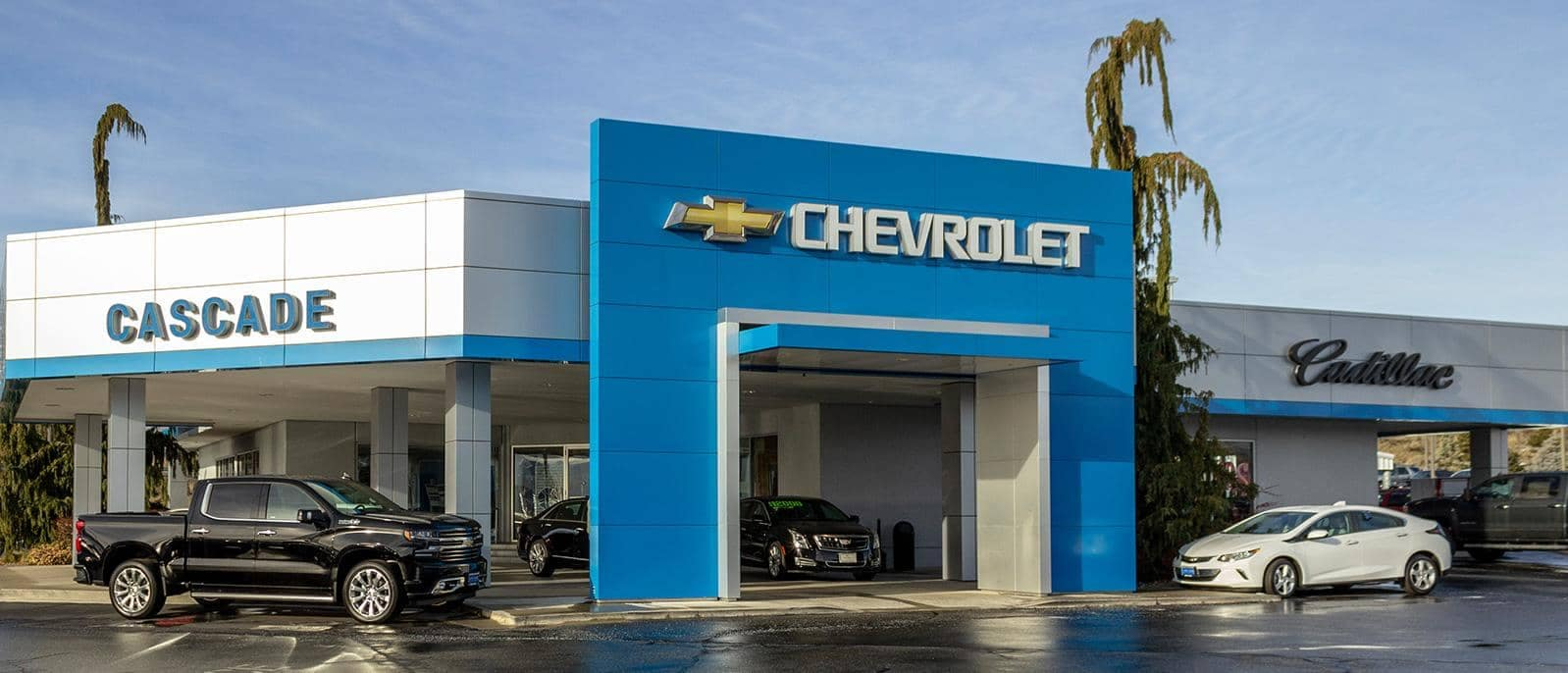 Cascade Chevrolet Dealership Front