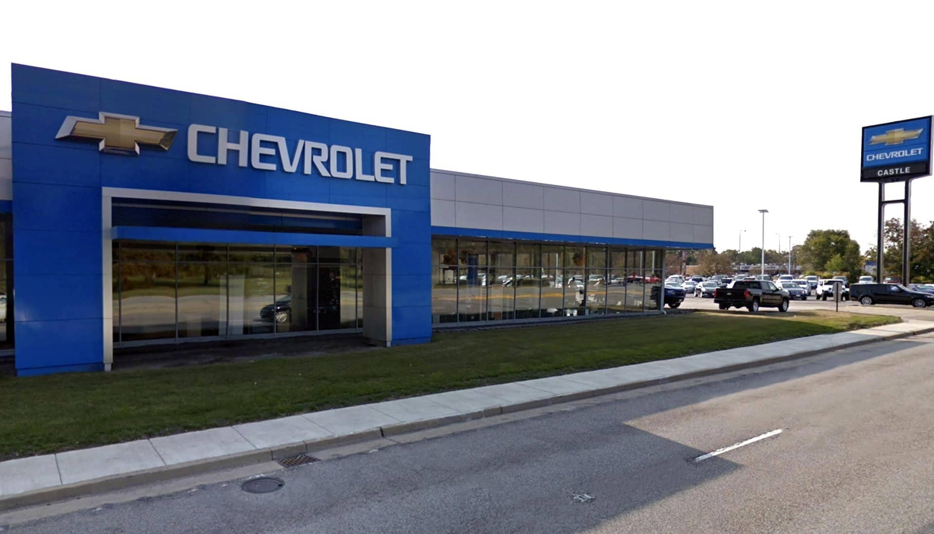 Exterior view of Castle Chevrolet North