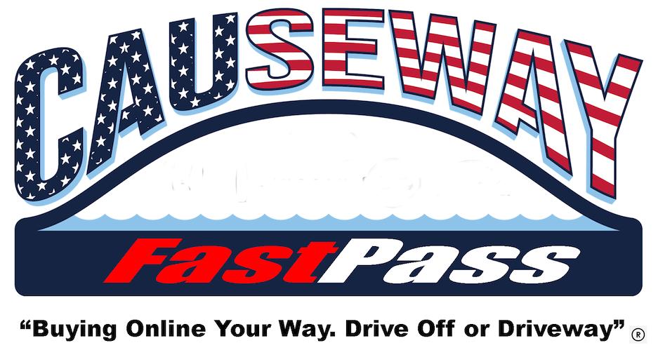 Causeway Fast pass banner
