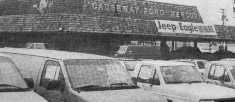 Causeway Ford Mercury storefront