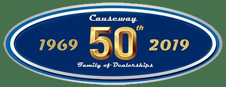 Causeway logo 1969-2019