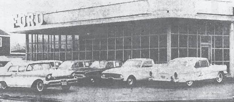 Original Bay Avenue storefront