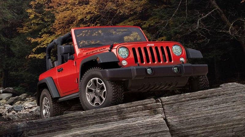 Jeep Wrangler red comparison