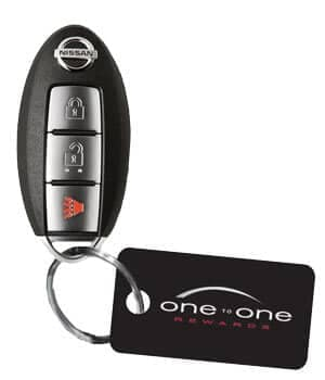 one on one fob and rewards plastic tag