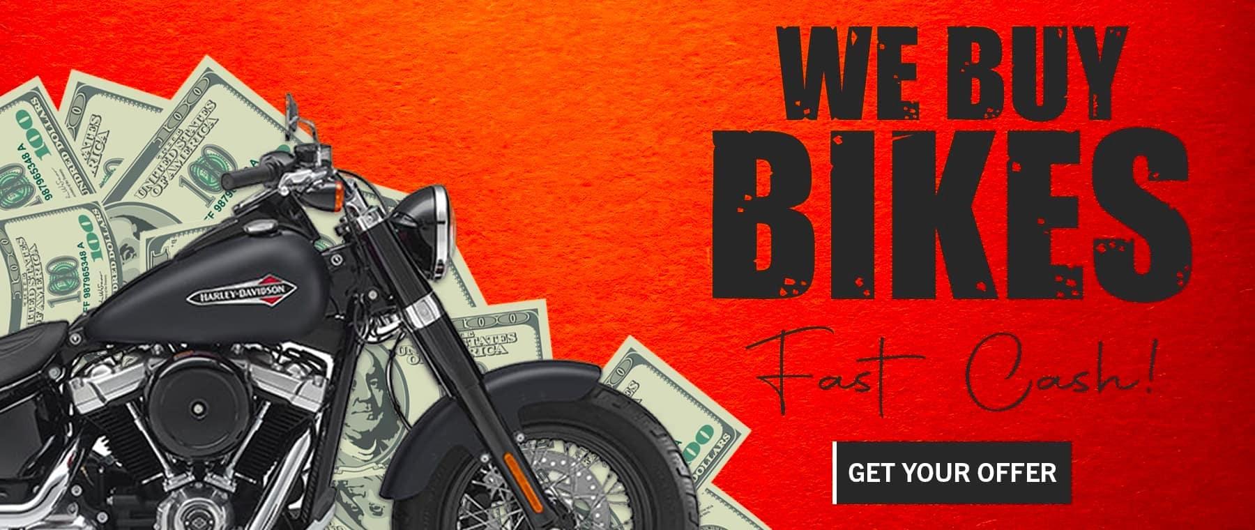 we buy bikes slider