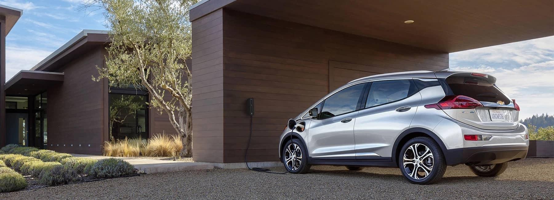 2020 Silver Bolt EV Electric Car Exterior Charging Rear