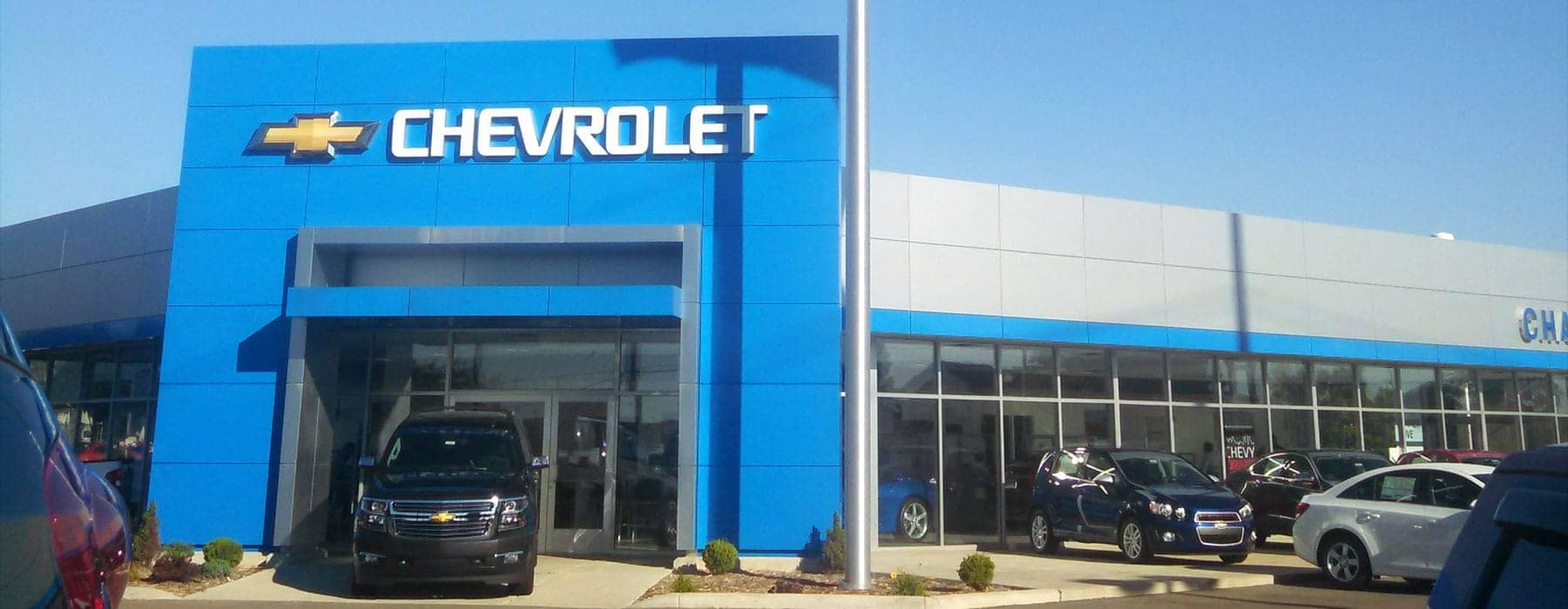 Champion Chevrolet of Fowlerville Exterior Dealership