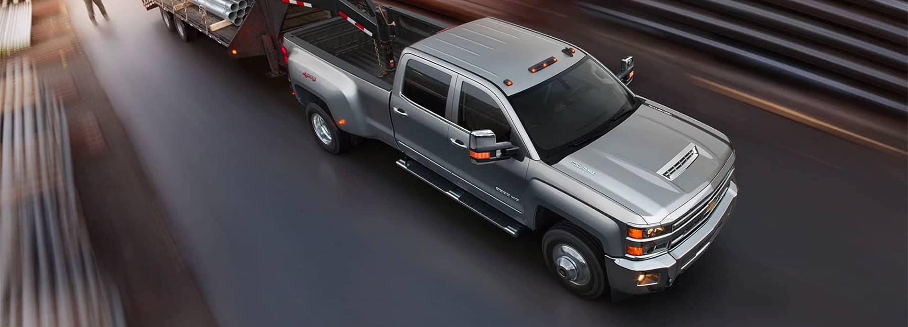 2019 Silverado HD Heavy Duty Truck Exterior Top View Towing