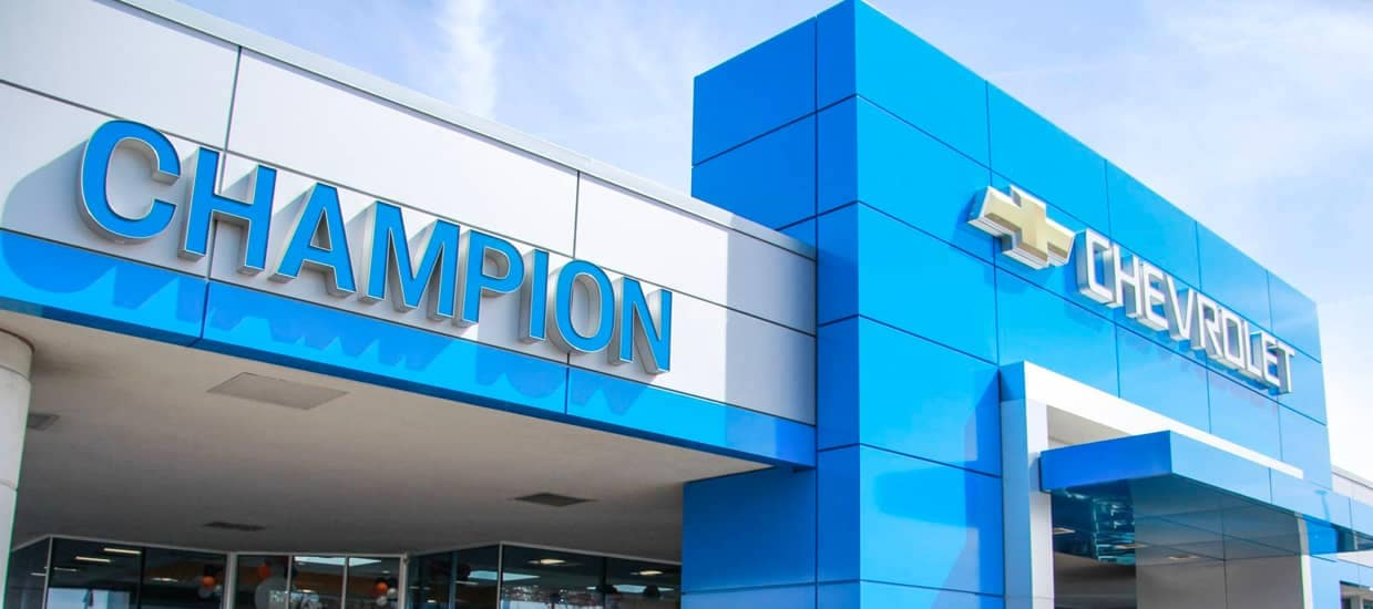 Champion Chevrolet of Howell Dealership Exterior