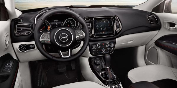 Jeep Compass Interior Dashboard