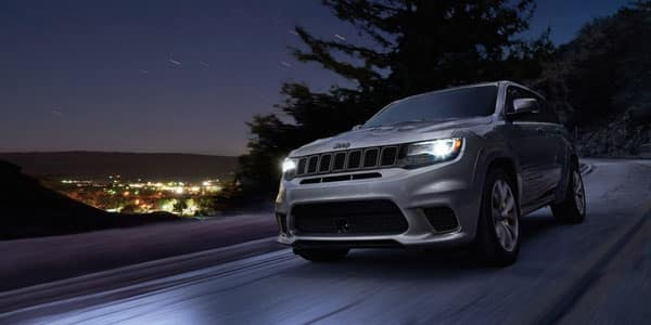 Jeep Grand Cherokee Driving at Night