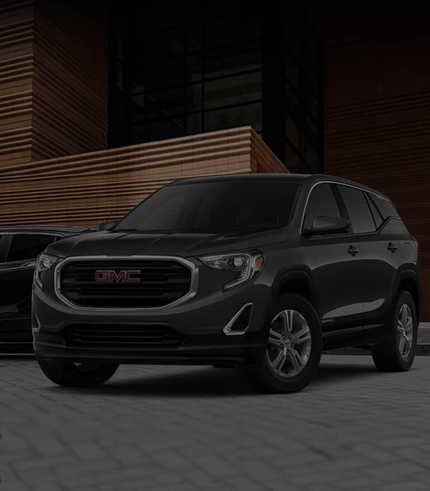 2020 GMC Terrain Large SUV Front Grille View dk