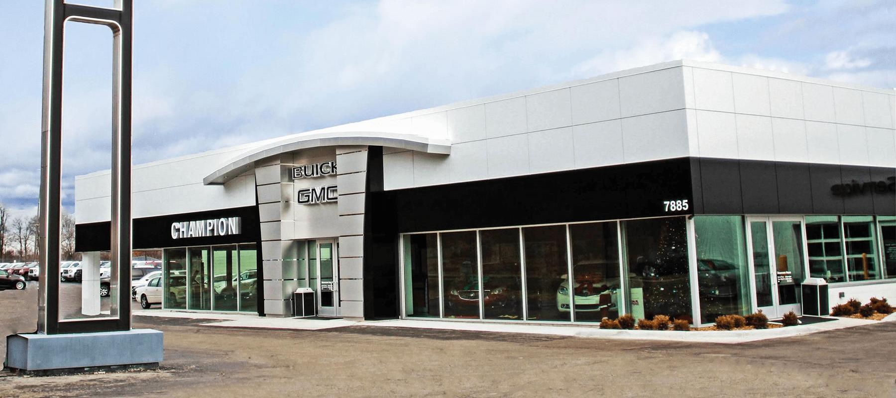 Champion Buick GMC of Brighton Dealership Exterior