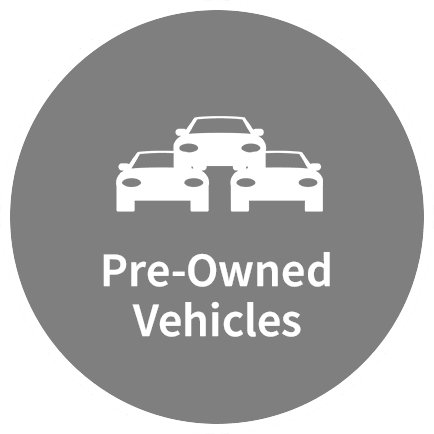 pre-owned vehicles icon homepage