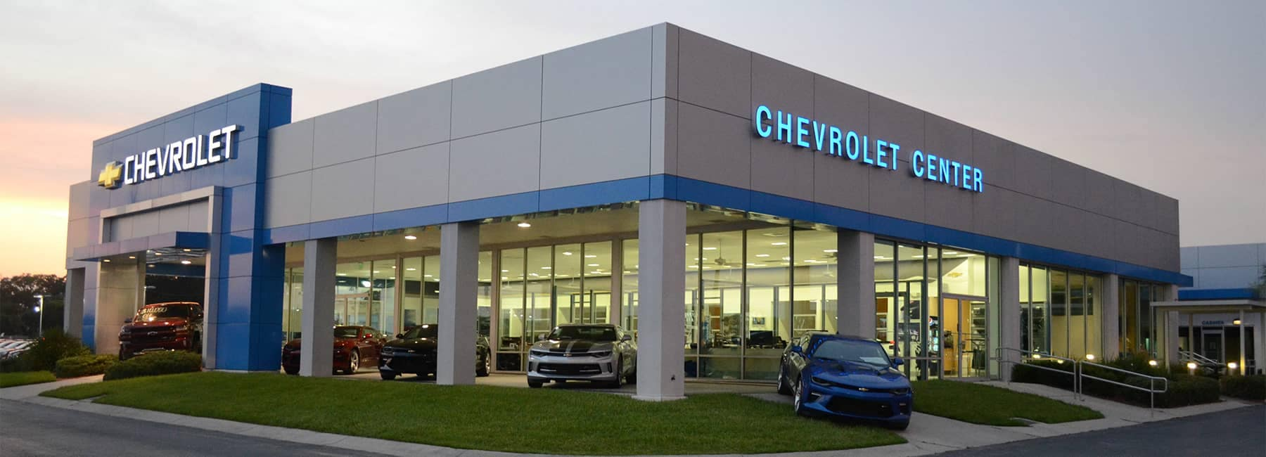 Chevrolet Center Dealership Exterior