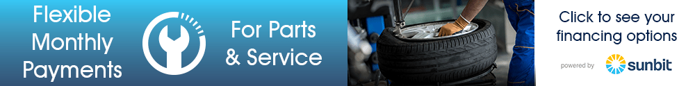 Service financing banner