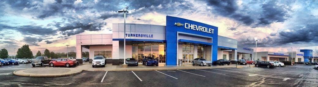 Chevrolet of Turnersville dealership parking lot image