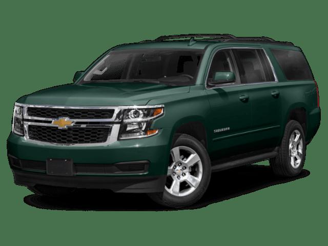 2020 Chevrolet Suburban angled green