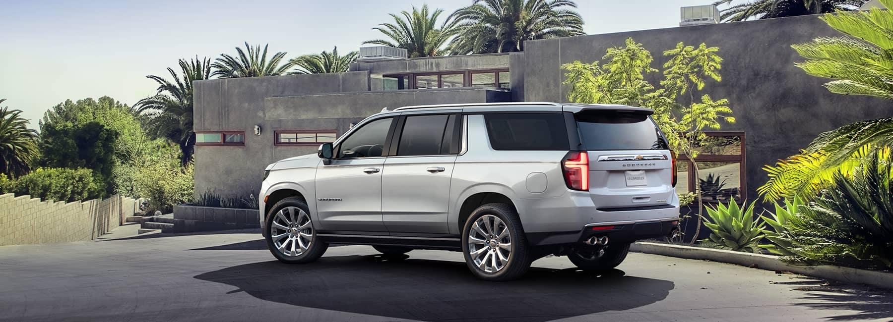 White 2021 Chevrolet Suburban