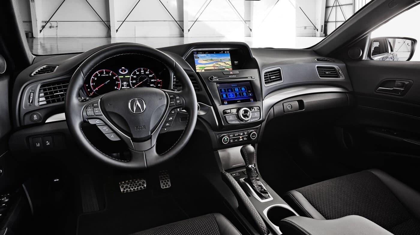 2018 Acura ILX Colors Black Interior