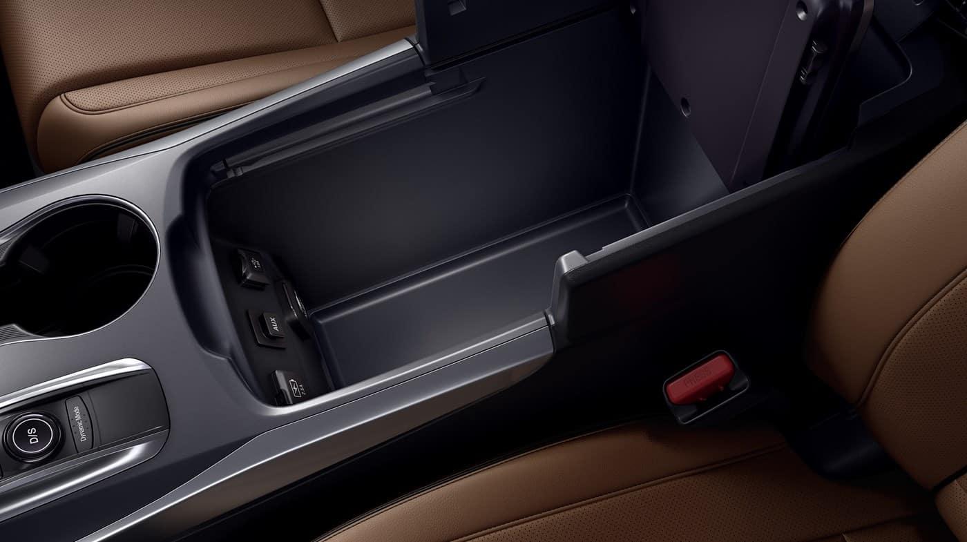 2018 Acura MDX Armrest Cargo
