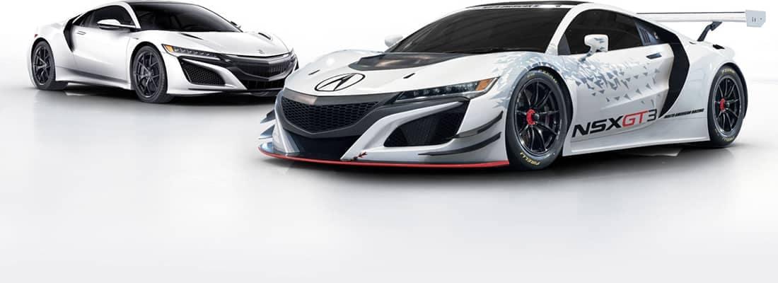 2018 Acura NSX Racecar Pair