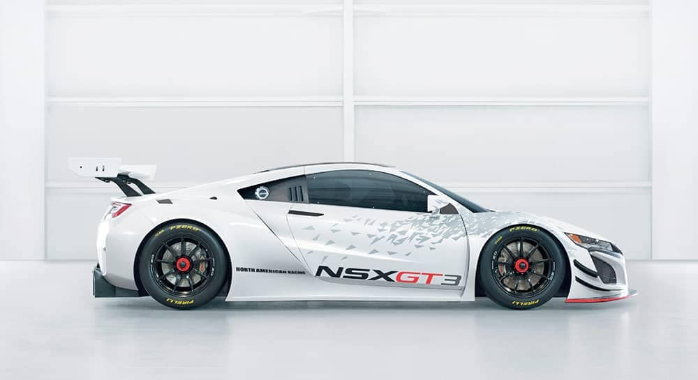 2018 Acura NSX Side