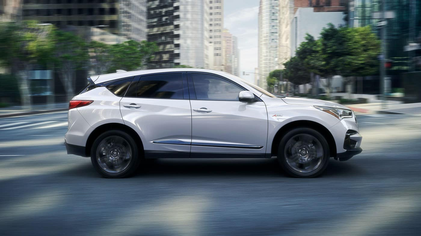 2018 Acura RDX White Side Veiw
