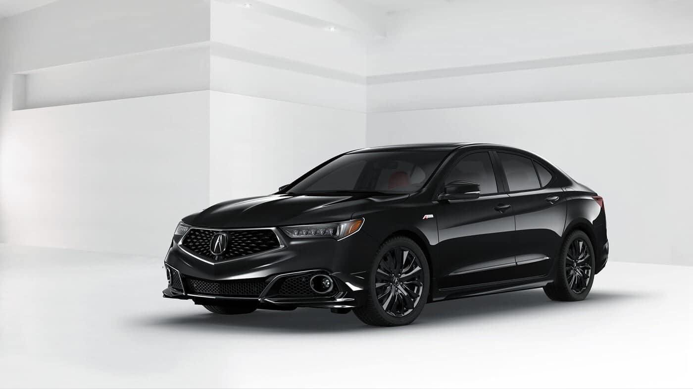 2018 Acura TLX Colors Black Exterior