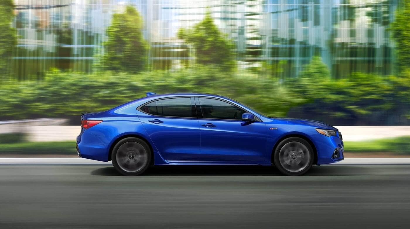 2018 Acura TLX Colors Blue Exterior