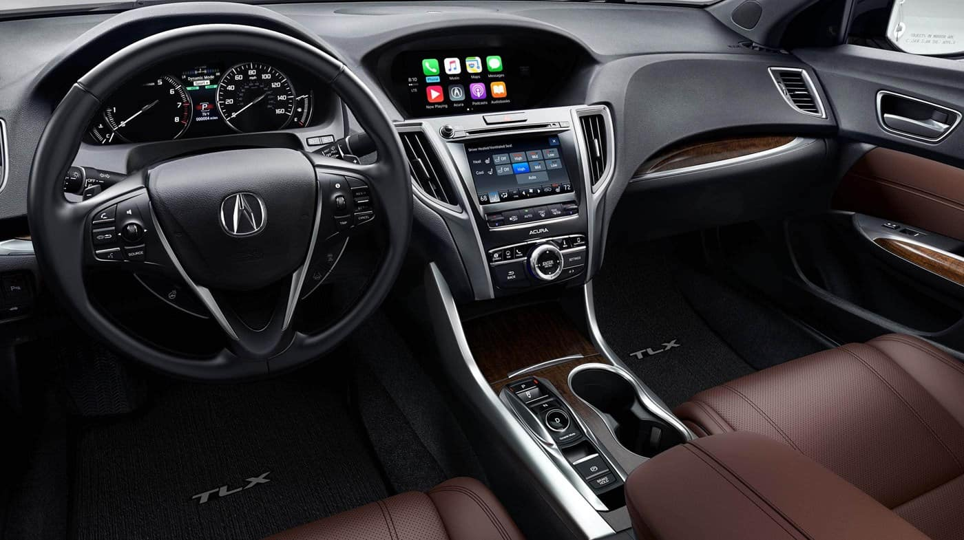 2018 Acura TLX Colors Brown Interior