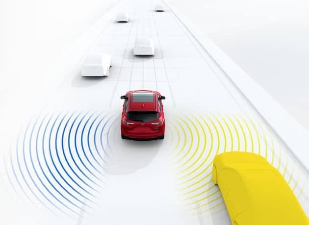 2019 Acura RDX Blind Spot