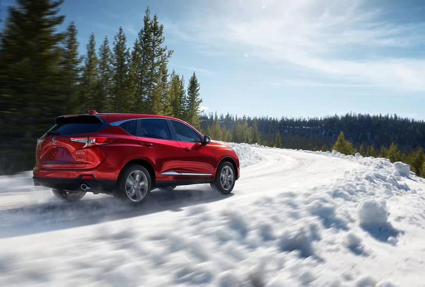 2019 Acura RDX In Snow