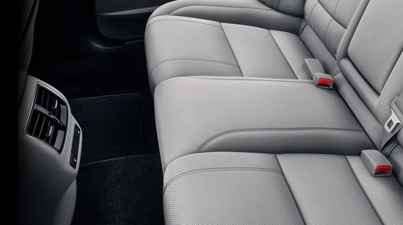 2019 Acura TLX Passenger Space