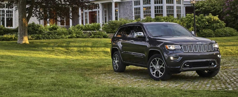 black jeep vehicle outside