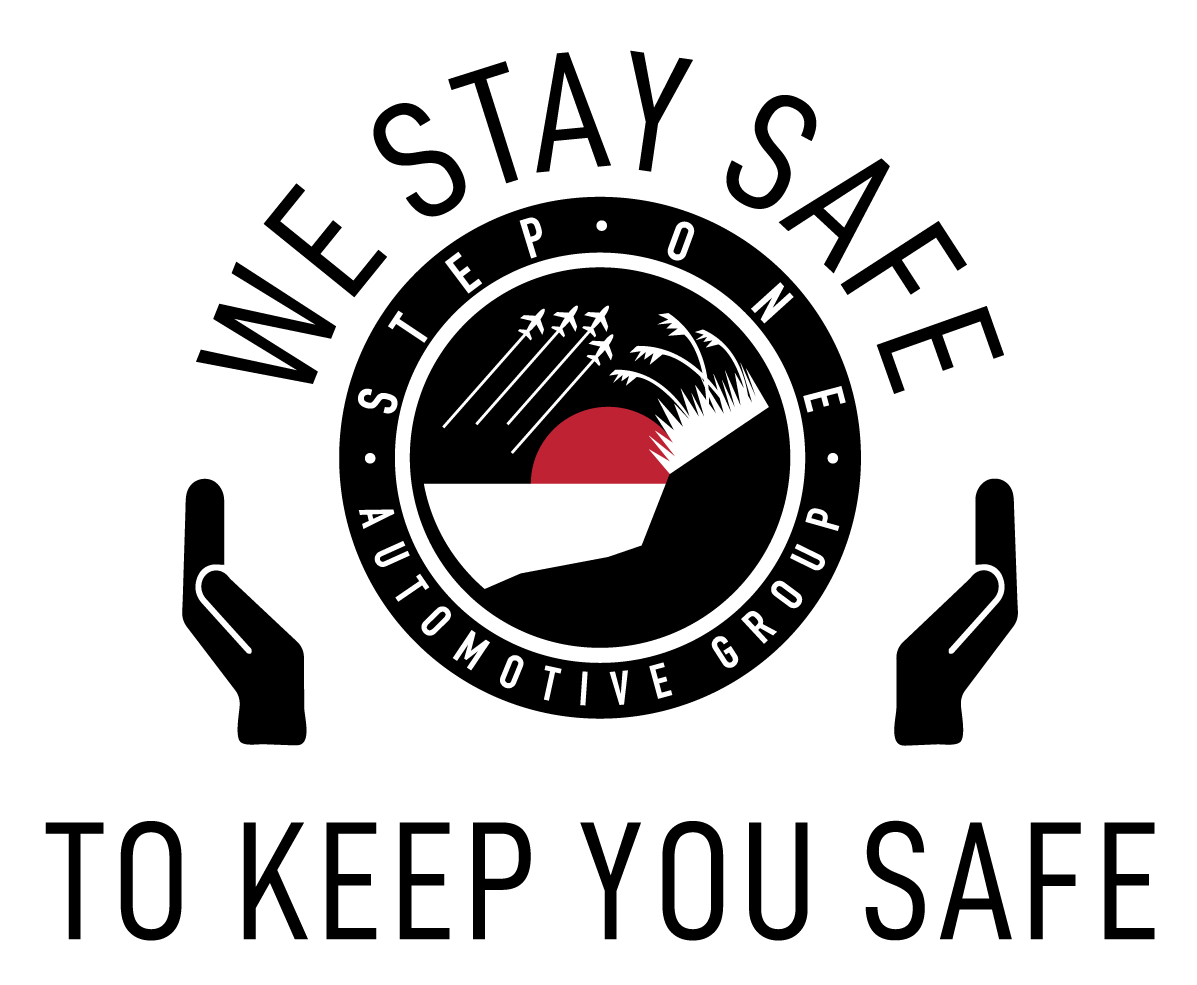 We Stay Safe - Step 1 Logo - To Keep You Safe